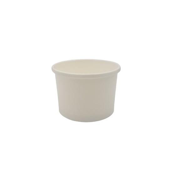 Pot à soupe en carton blanc 240 ml