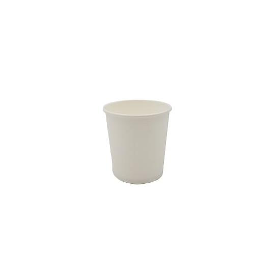 Gobelet en carton blanc 118 ml