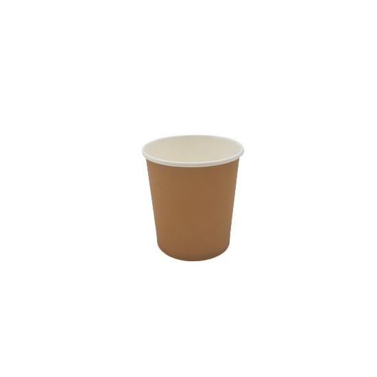 Gobelet en carton kraft brun 118 ml