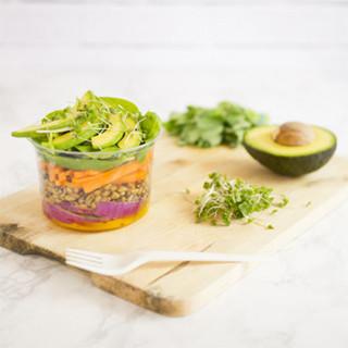 Pots alimentaires en carton et plastique - PKG Food