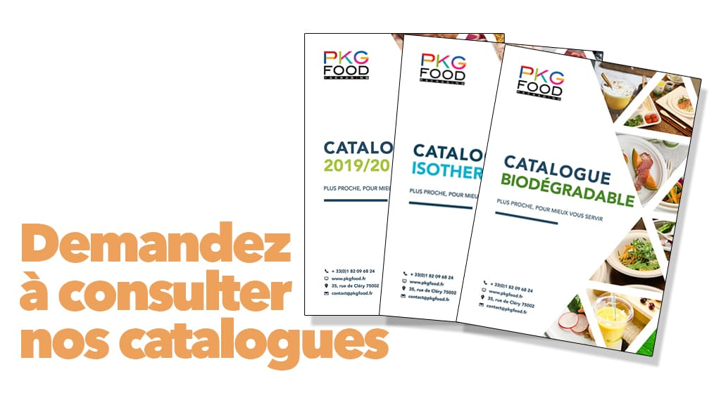Nos catalogues - PKG FOOD