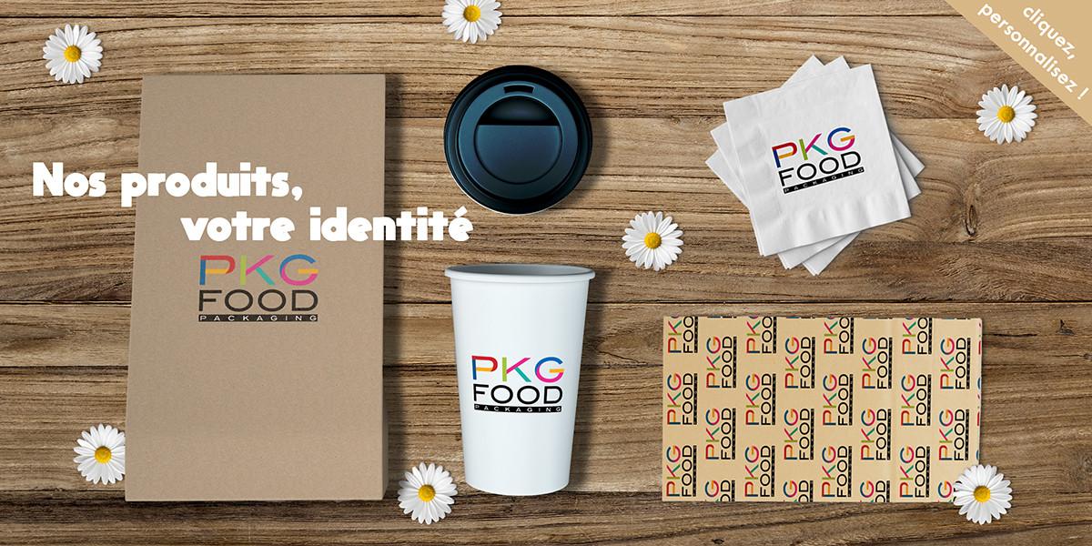Personnalisation d'emballages - PKG FOOD